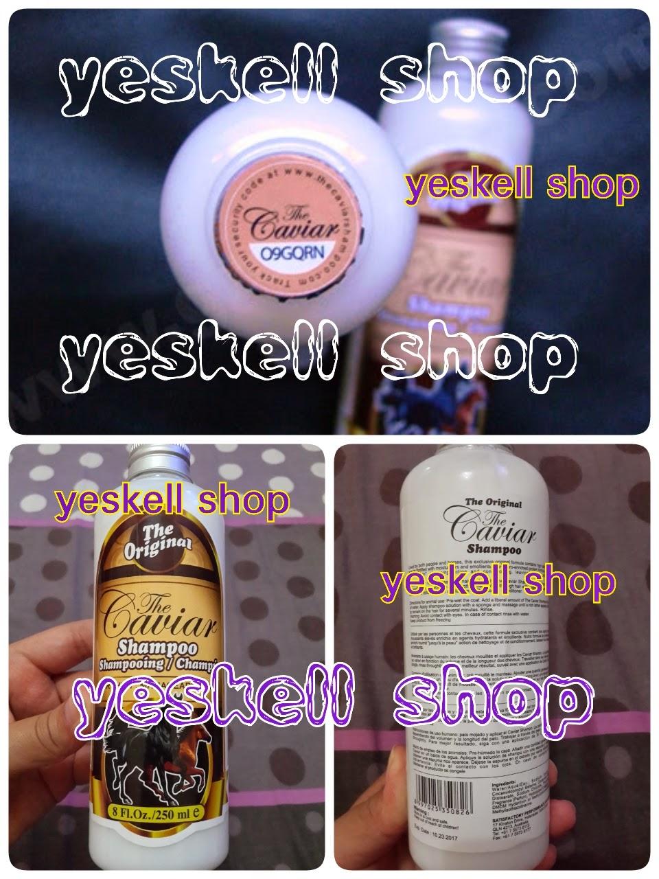 Harga Jual Shampo Kuda Cendutcosmetik Toko Online Mane N Tail The Caviar Shampoo Yeskell Shop