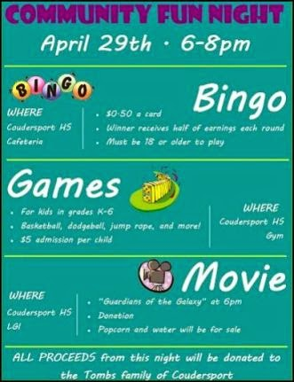 4-29 Community Fun NIght