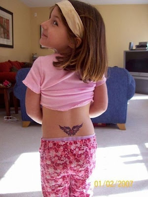 get her first tatto