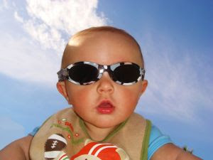Baby in Sunglasses. Stock Photo credit: vinvalenti