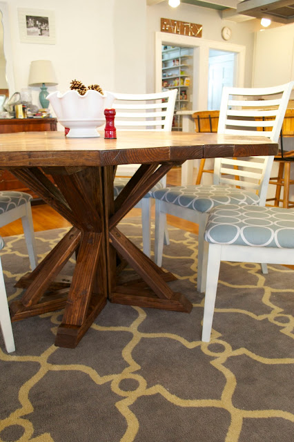 Seesaws and Sawhorses Restoration Hardware DIY Dining Table
