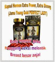 Jamu Young Gold Perfect Lady !