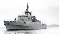 Libyan frigate Dat Assawari