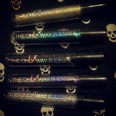 TOWIE glitter eyeliners set
