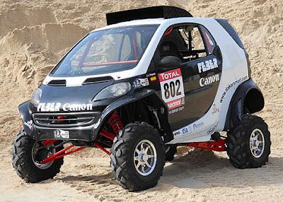 El prototipo del  Feber Smart Team, Dakar Jujuy