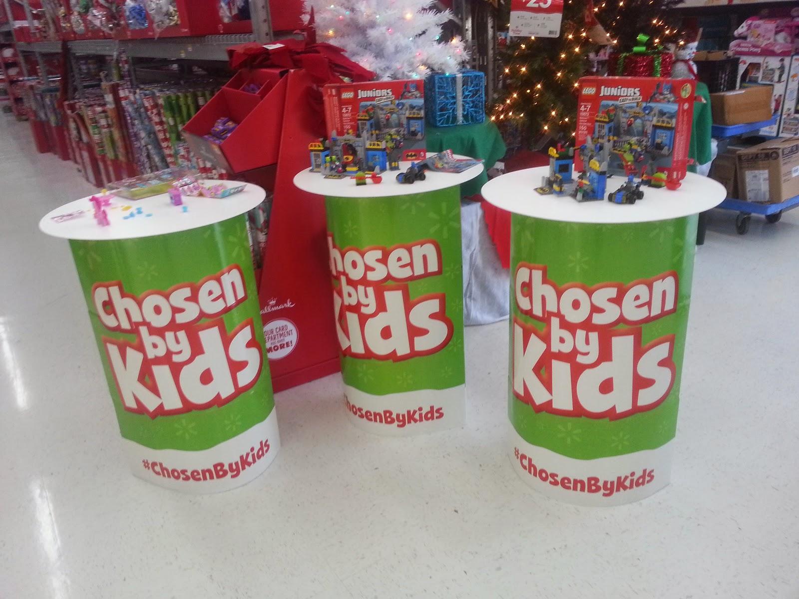 #ChosenByKids @ Walmart