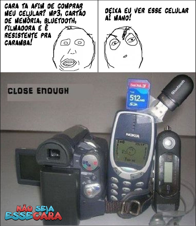 não seja esse vendedor de celular