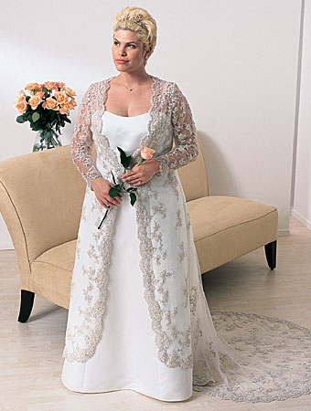 Cheap plus size wedding dresses on writing on life for Wedding dresses for plus size mature brides