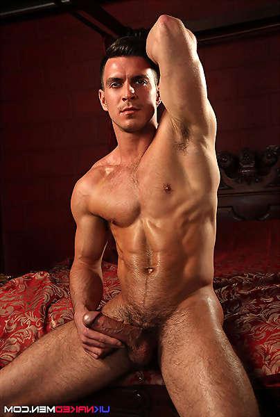 Workout nude men gym
