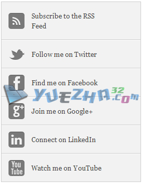 Cara Membuat Widget Social Media Vertikal di Blog