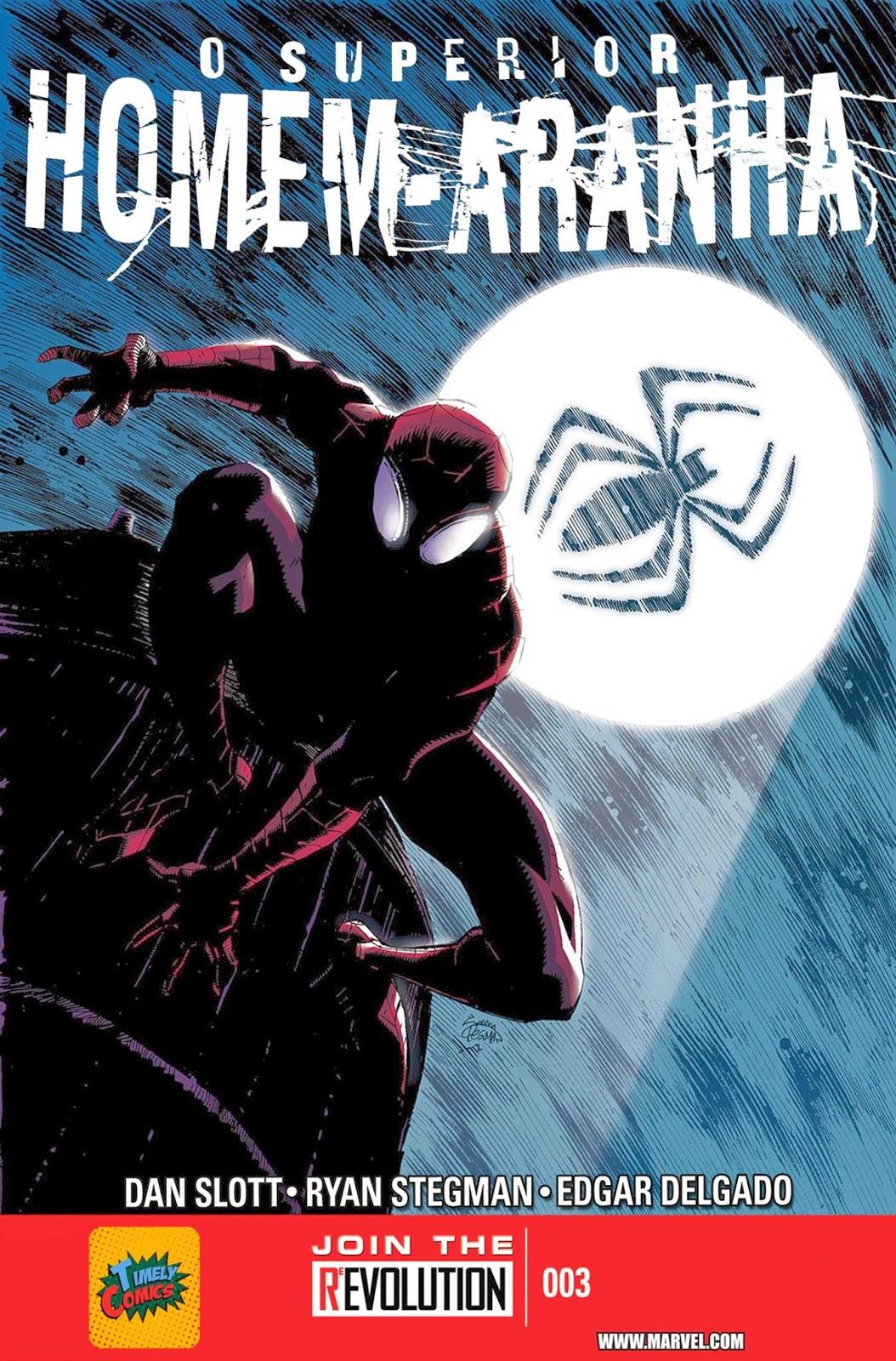 Nova Marvel! O Superior Homem-Aranha #3