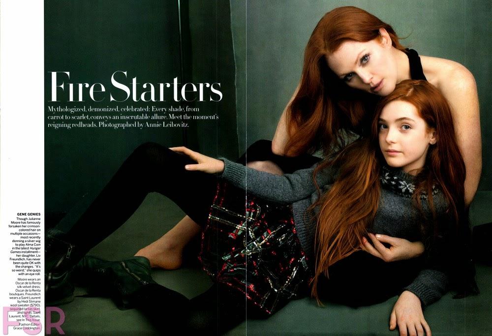 Julianne Moore Daughter Fashion Week