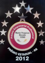 Prêmio Empresarial Estadual - 2012