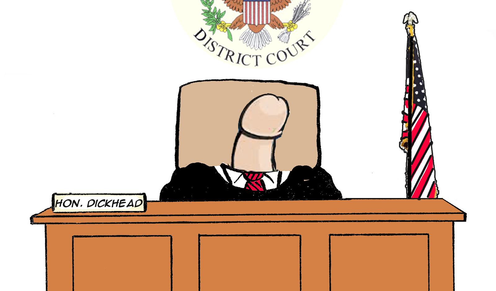 Judge Dickhead