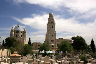 Israel Travel Guide - Christian Holy Places: Dormition Abbey, Hagia Maria Sion Abbey