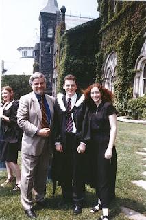 Dad, Matt, Sarah
