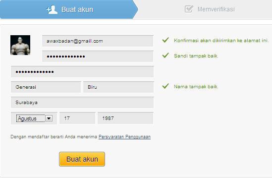 form pendaftaran 4shared via facebook