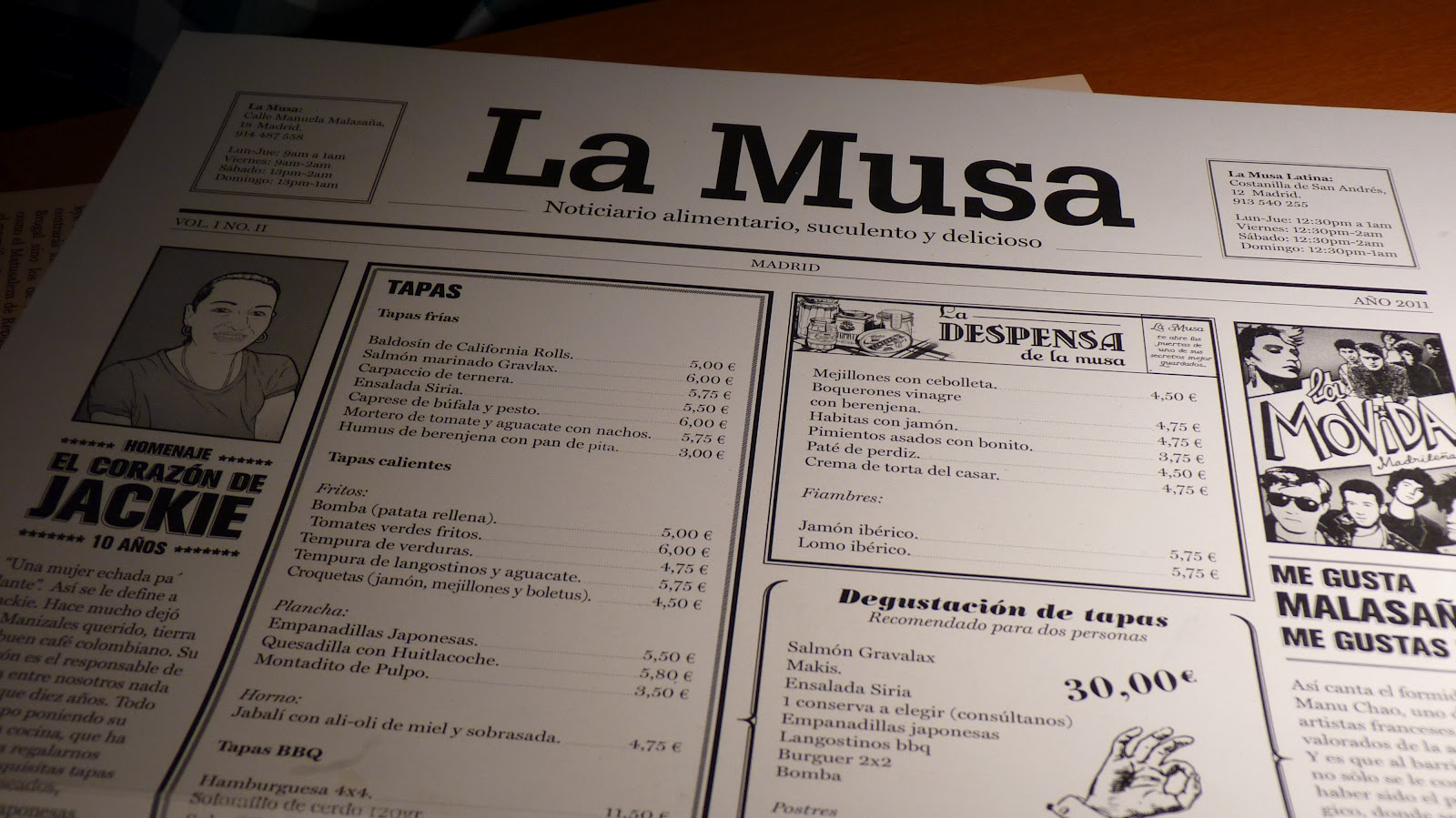 De rinconcitos por madrid beautiful things - La musa latina madrid ...