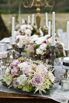 arreglos florales boda vintage