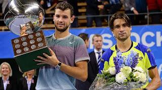 TENIS-Dimitrov campeón en Estocolmo