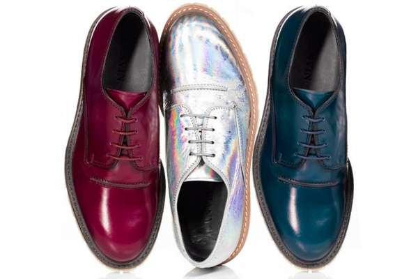Prada Shoes Ladies Brogues