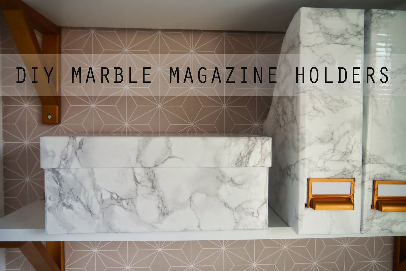 You Re Going To Need A Of Ikea S Finest Cardboard Magazine Holders For Those Asking I Used This Marble Contact Paper These Projects