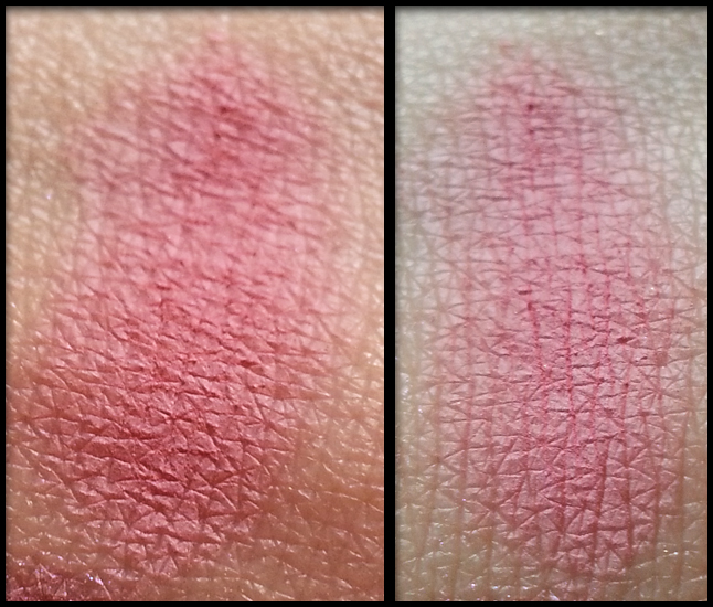 Neve Cosmetics - Blush Minerale - London Mood swatch