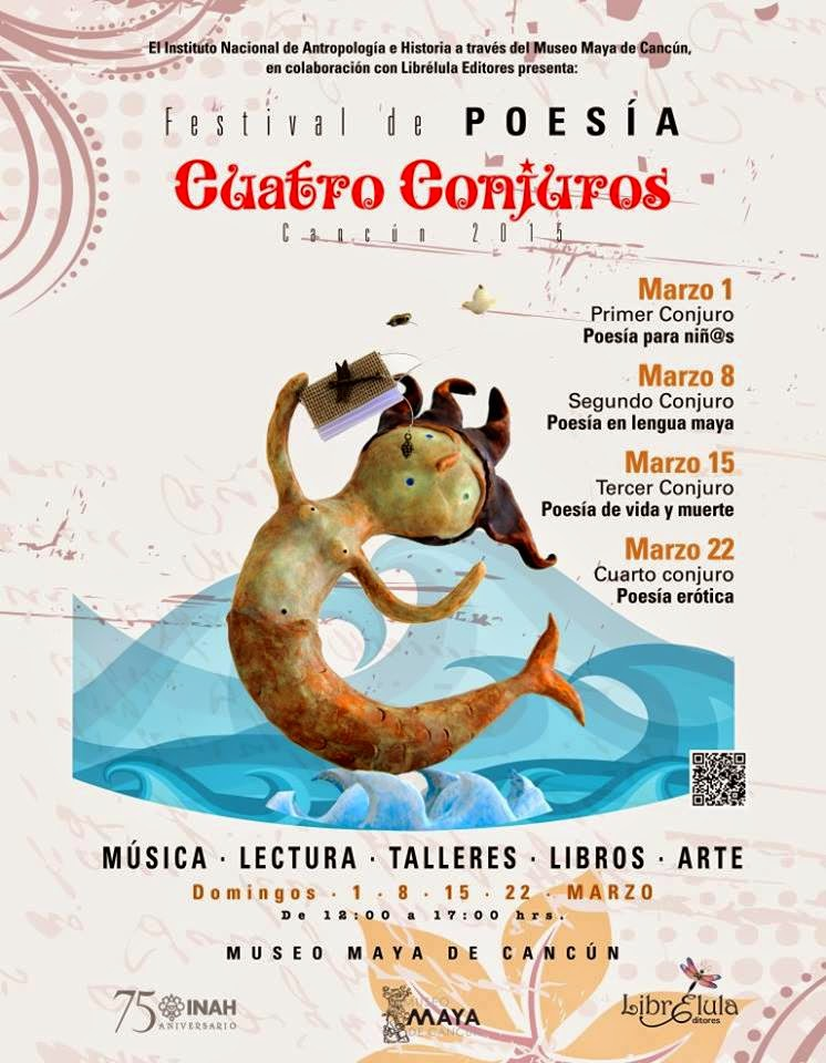 Festival de Poesía Cuatro Conjuros