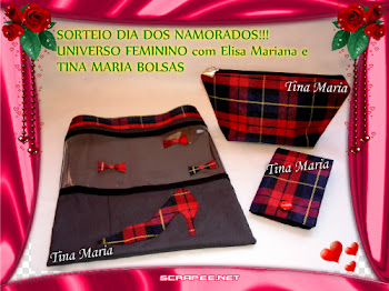 Sorteio em parceria com a Tina Maria!