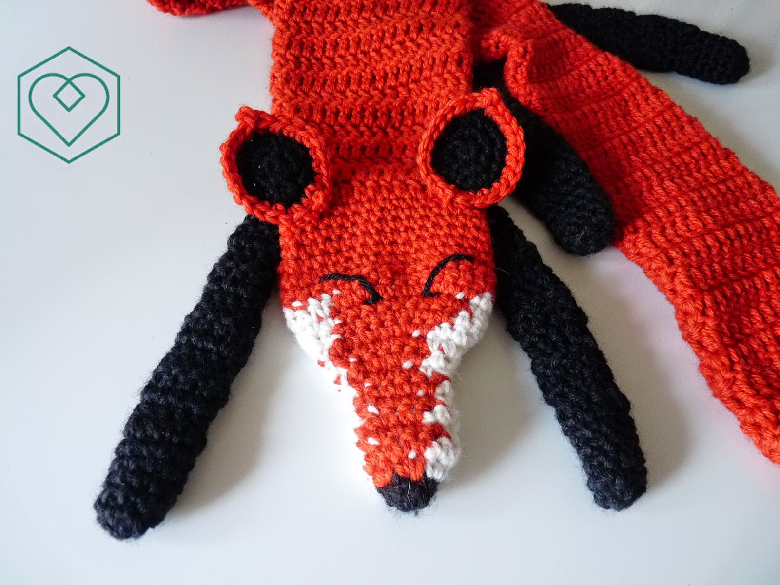 Louis et Moi (cosen y hacen crochet): Bufanda zorro