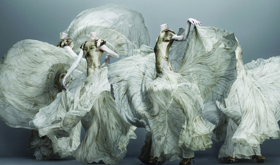 via fashioned by love | Alexander McQueen Savage Beauty