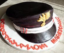 torta cappello maresciallo dei carabinieri