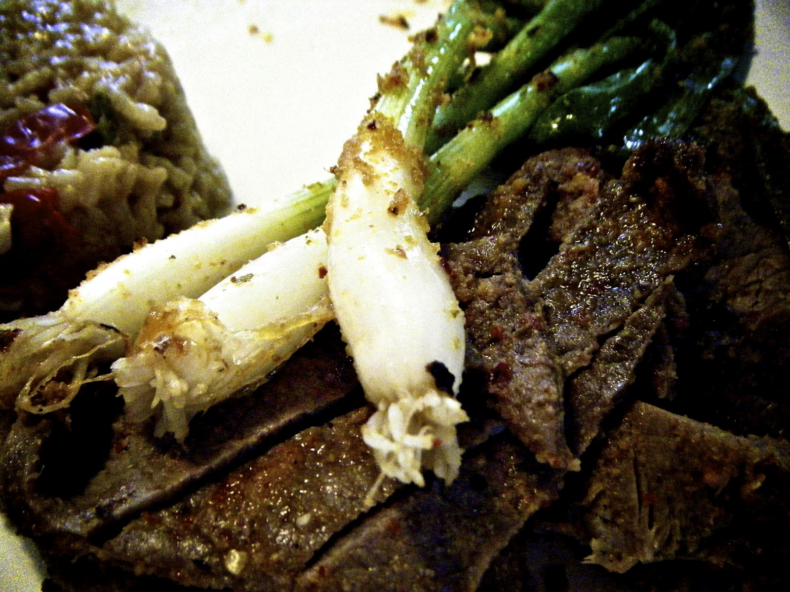 Katie-Kate's Kitchen: Carne Asada Tampiquena with Grilled Scallions
