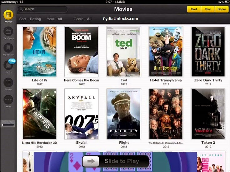 Movie Box Cydia