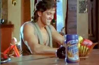 Bourvita brand in Krrish movie