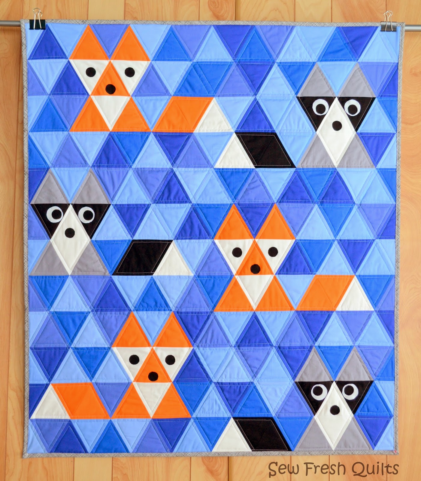 Sew Fresh Quilts Equilateral Triangle Quilt Along