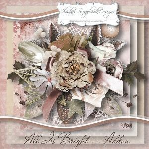"""All Is Bright Addon"" by Ilonka´s Scrapbook Designs - mein Layout"