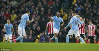 Manchester City vs Southampton 3-1