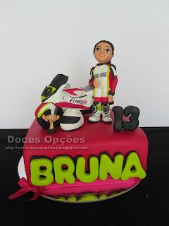 O aniversário da Bruna Lopes a grande velocidade