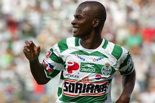Darwin Quintero 26 goles en 101 partidos Con Santos