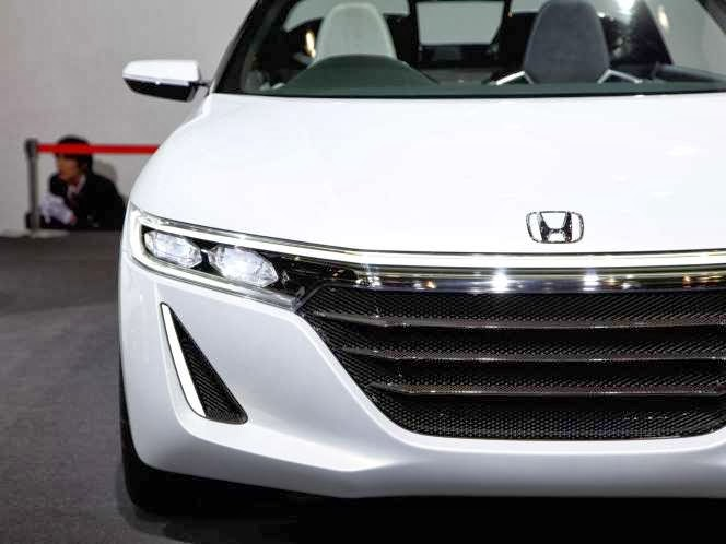 Hondayes Honda S660 Concept Stars At The Tokyo Motor Show 2013