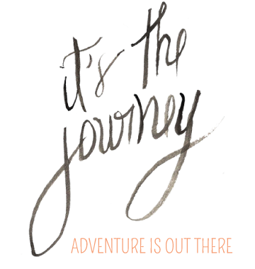 it's the journey...
