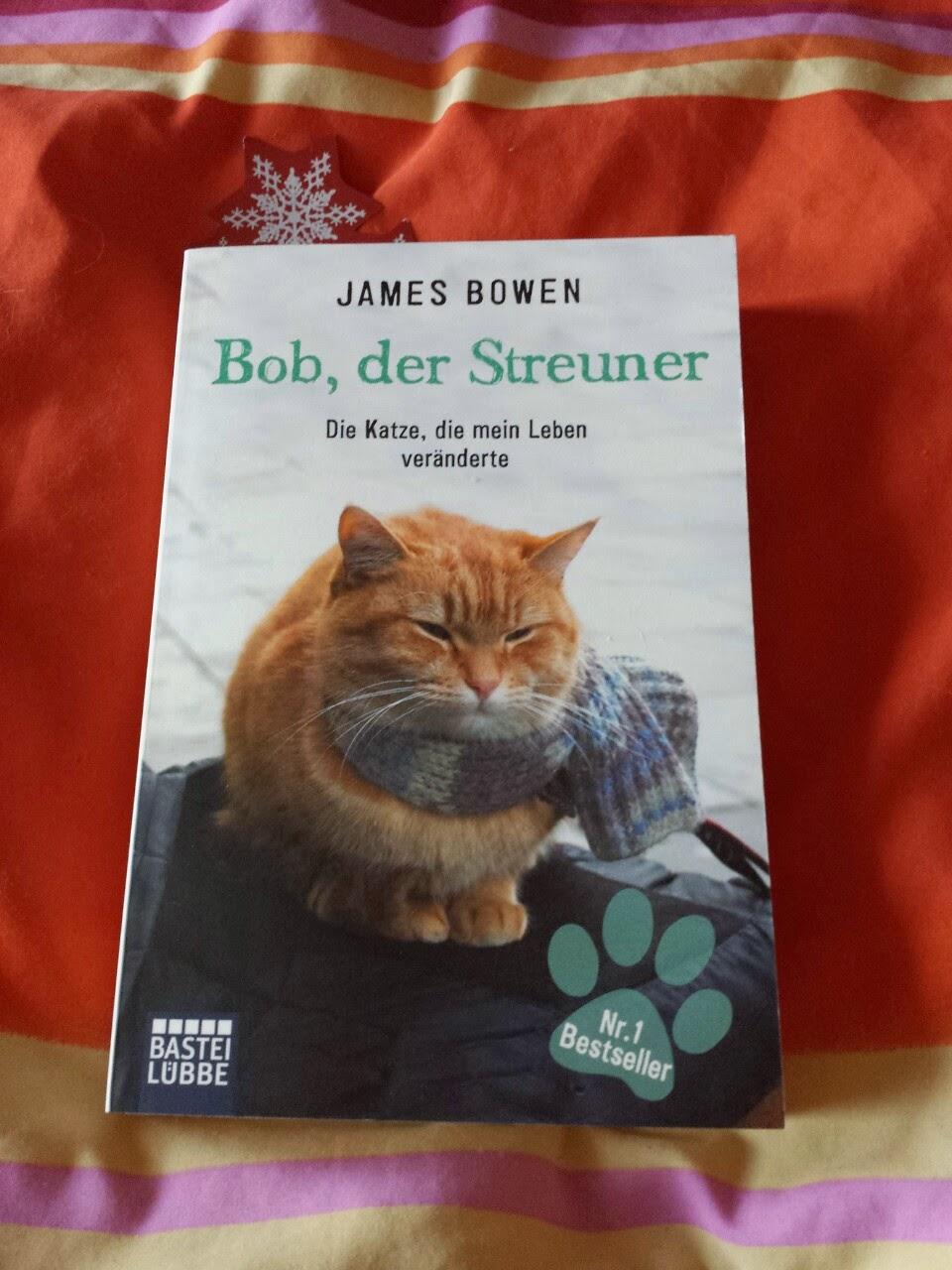12 Monate, 12 Bücher: Mein Buch des Monats Juni; Bob, der Streuner