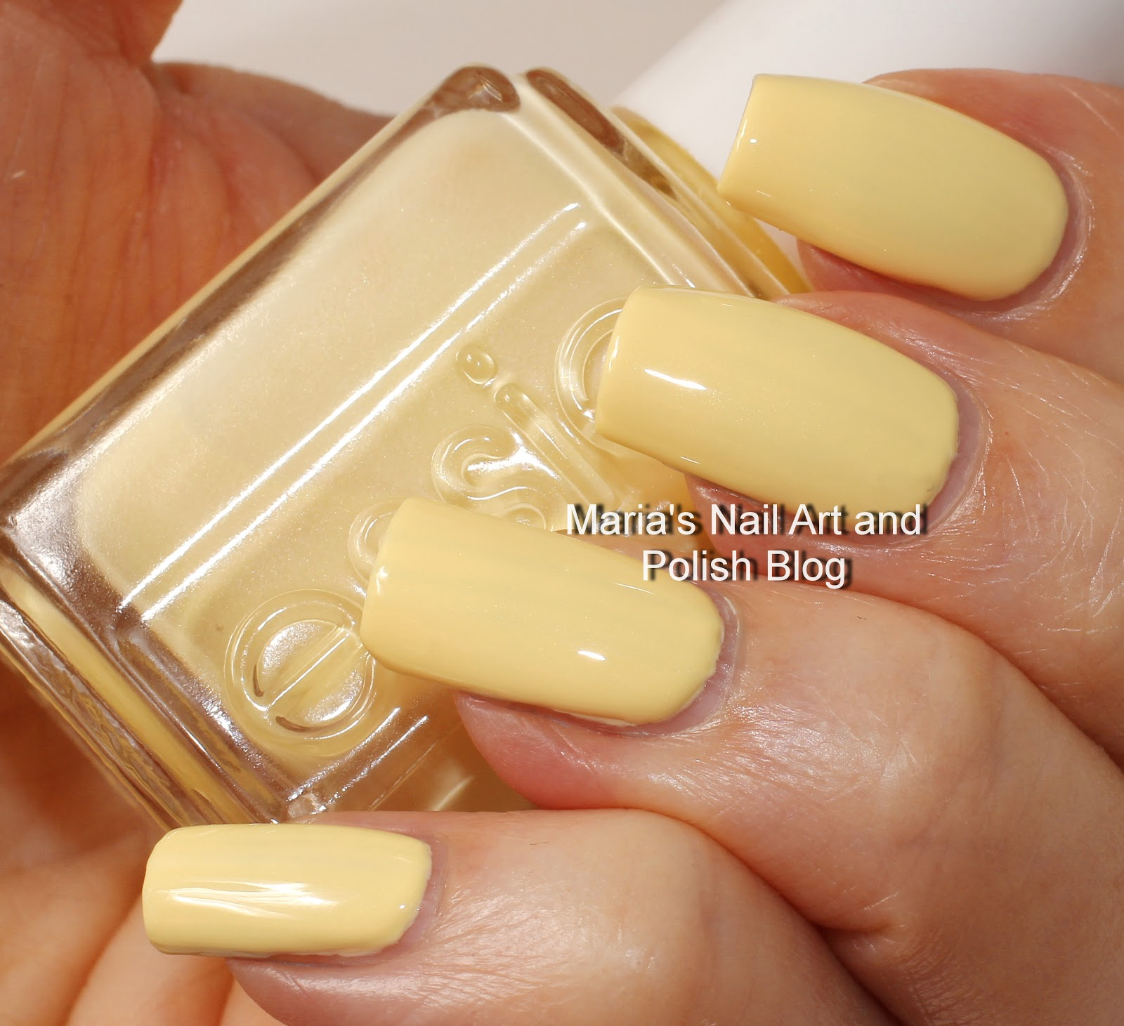 Marias Nail Art and Polish Blog: Essie Barbuda Banana swatches - vintage
