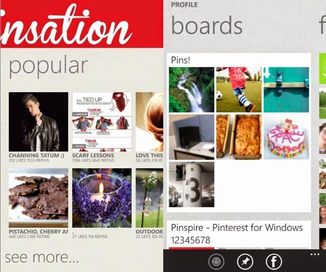 Pinterest available on Windows Phone, Pinterest on Windows Phone, Windows Phone, Pinterest, Pinterest app, Pinterest for Windows Phone, Windows Phone 8.1