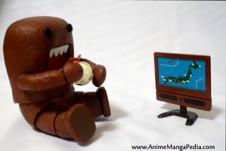 revoltech domo watch tv