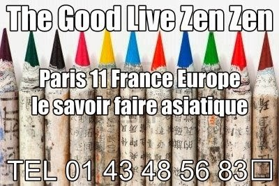The Good Live Zen Zen Paris 11 France Europe le savoir faire asiatique