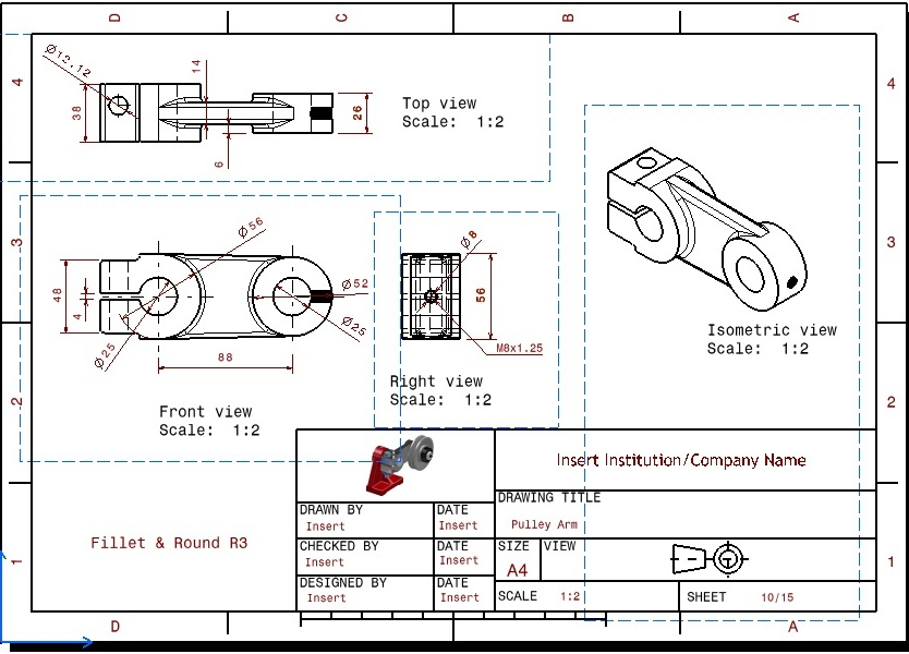 Msh Design House  Cad Drawing