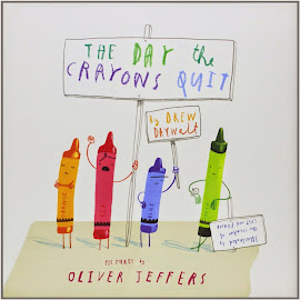 V. I. BUY: The Day the Crayons Quit by Drew Daywalt and pictures by Oliver Jeffers £9.09 Amazon