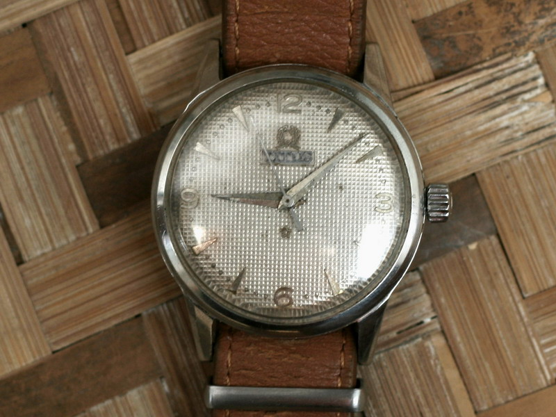 (For Sale) Titus Automatic with Leather Nato